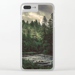 Pacific Northwest River - Nature Photography Clear iPhone Case