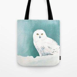 Arctic Eyes Tote Bag
