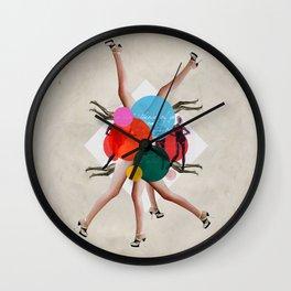 Show girls love fashion Wall Clock