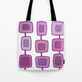 MidCentury Modern Swatches (Lilac) Tote Bag
