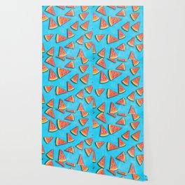 Watermelon slices Wallpaper