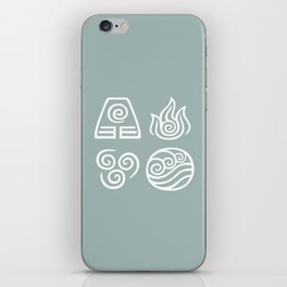 Bending All Four Elements – Water iPhone Skin