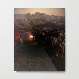 Project Gaia Metal Print
