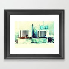What's cooler than cool? Ice Cold! Framed Art Print