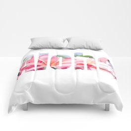 Aloha white Comforters
