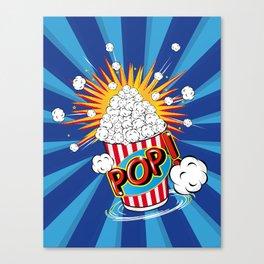 Popcorn - POP! - Canvas Print