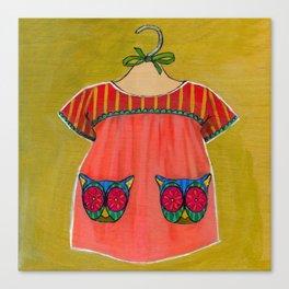 Avery Dress 01 Canvas Print