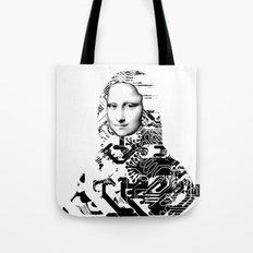 Mona Lisa Platina 1 Tote Bag
