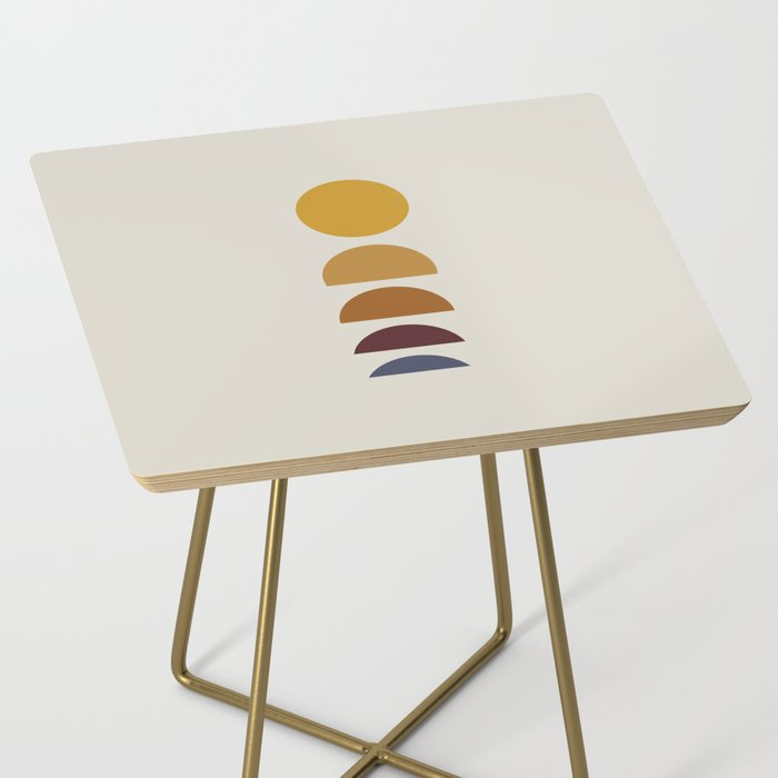 Minimal Sunrise / Sunset Side Table