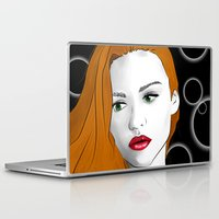 lydia martin Laptop & iPad Skins featuring Lydia Martin by reliand