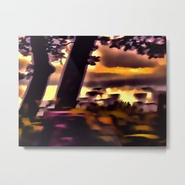 Abstract Landscape 39 Metal Print