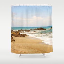 Montezuma Beach Shower Curtain