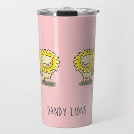 Dandy Lions Travel Mug