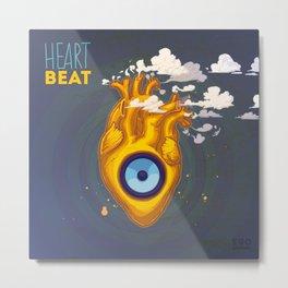 Heart Beat Metal Print