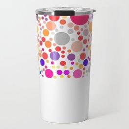 Party Polka Dots Travel Mug