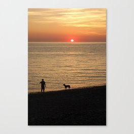 Welsh Sunset Canvas Print