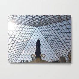 The Pyramid of Paris Metal Print