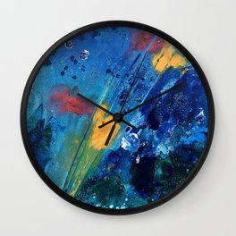 Views of Rainbow Coral, Tiny World Collection Wall Clock