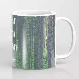 Forest is My Favorite Color Coffee Mug