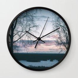 Benka Lake Wall Clock