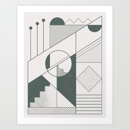 Shaw Art Print