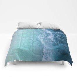 Turquoise Sea Comforters