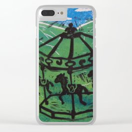 Carousel I Clear iPhone Case