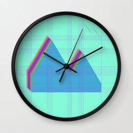 Reykjavik Boulevard #07 Wall Clock