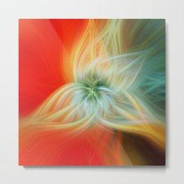 Energy Blossom Metal Print
