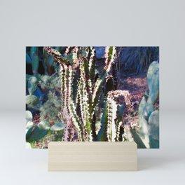 Wisdom Cactus Mini Art Print