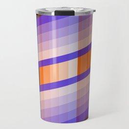 Color Harmony Blue orange Travel Mug