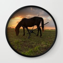 Mustang Magic Wall Clock