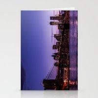 brooklyn bridge Stationery Cards featuring Brooklyn Bridge by hannes cmarits (hannes61)