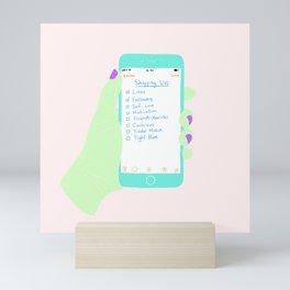 WHAT CAN YOU BUY Mini Art Print