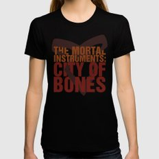 The Mortal Instruments: City of Bones Womens Fitted Tee Black X-LARGE