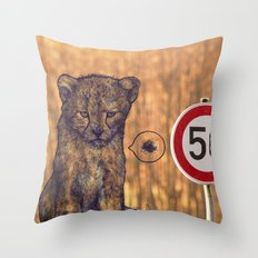 Not my rules Throw Pillow