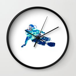 Cool Diver Sea Motive | Ocean Design Wall Clock