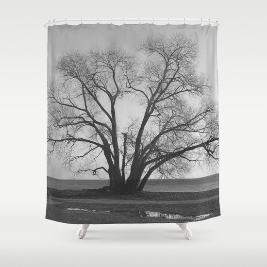 Tree of life inspired photography nature black and Nature inspired shower curtains