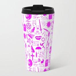 Buffy Symbology, Pink Travel Mug