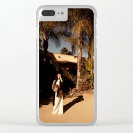 I Sing The Body Electric Clear iPhone Case
