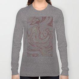 Liquid Glitter Long Sleeve T-shirt