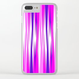 Abstrct 212 Clear iPhone Case