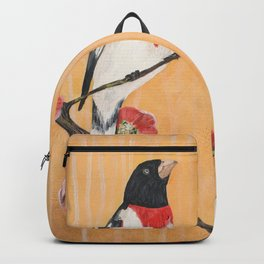 Rest Flowering Quince Rose-breasted Grosbeak Backpack