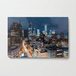 Manhattan living and breathing Metal Print
