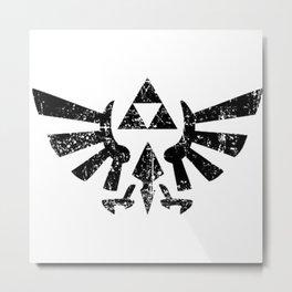 trifoce zelda Metal Print