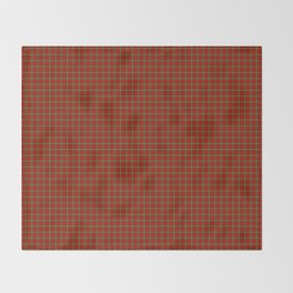 Scott Tartan Throw Blanket