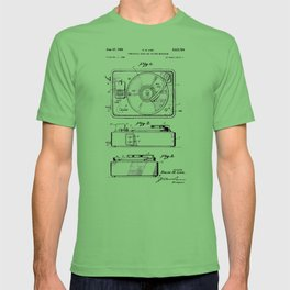 Turntable Patent T-shirt