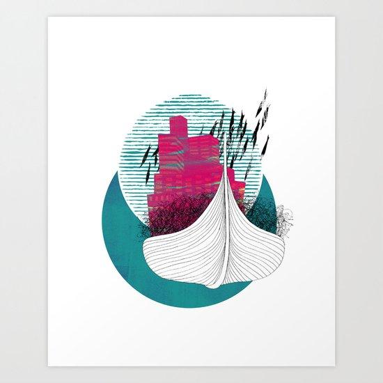no hope. no fear. Art Print