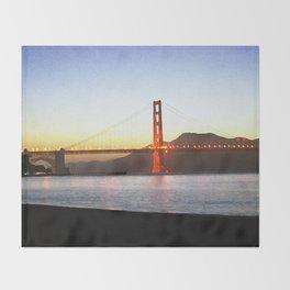 Painted Bridge Throw Blanket