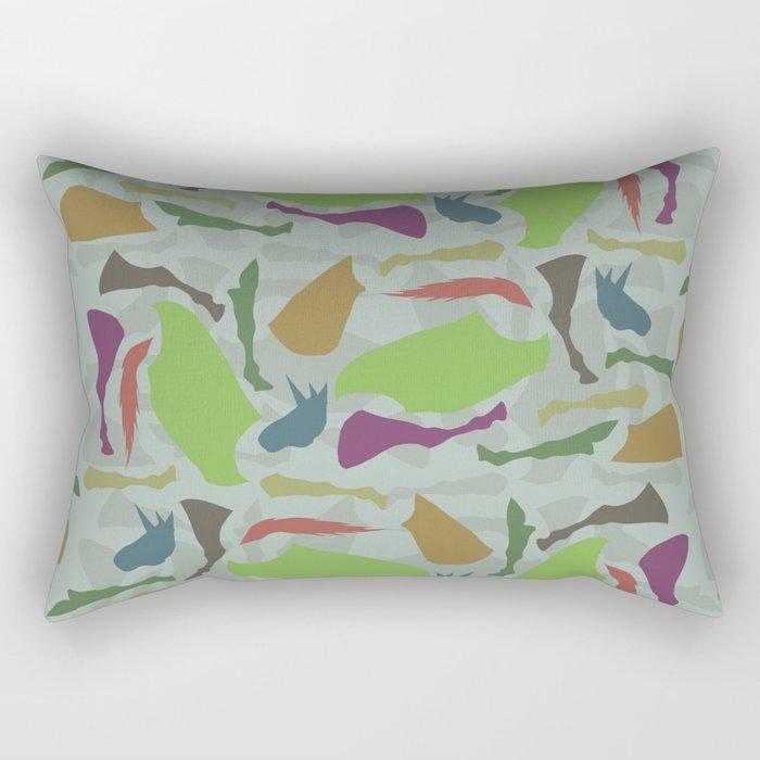 Pieces Of Unicorn Rectangular Pillow